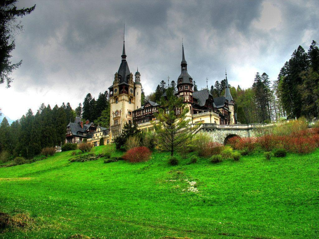 Peles Castle, Romania widescreen wallpapers