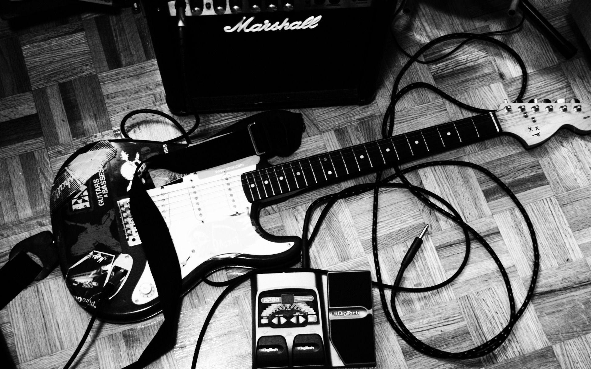 Electric Guitar Music Hd Wallpaper #5076 Wallpaper | walldesktophd.com