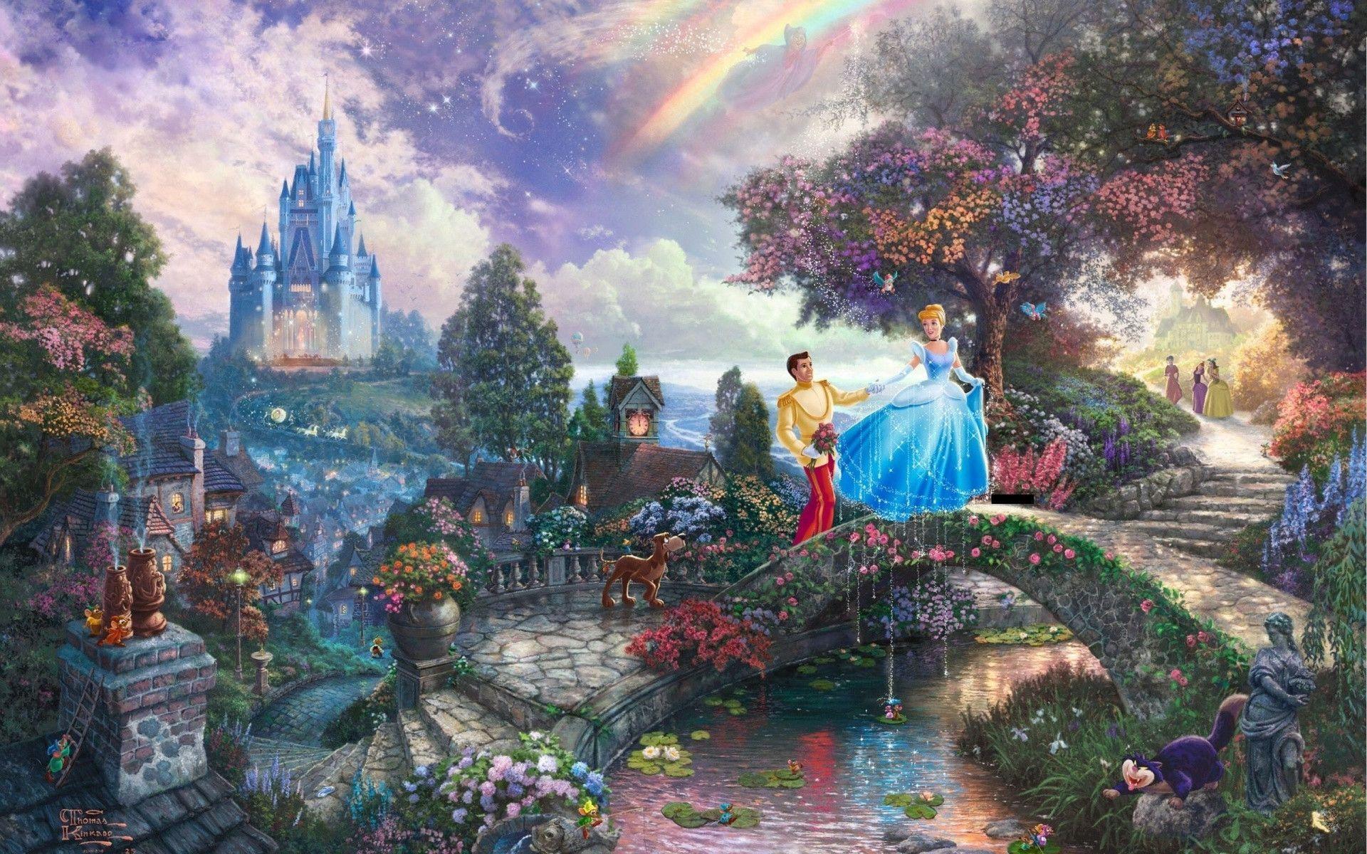 Thomas Kinkade Disney wallpaper - 898401