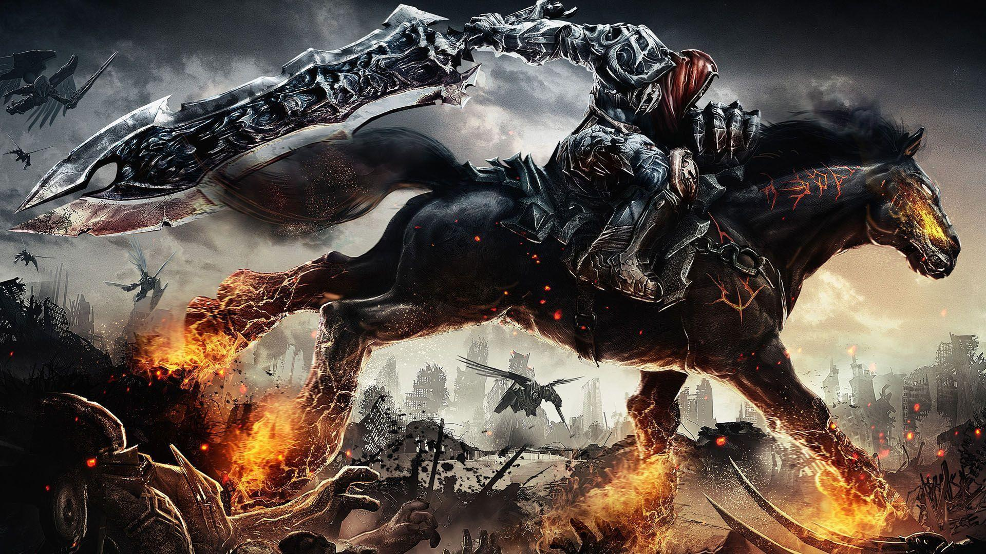 Game darksiders wallpapers wallpapers 1920x1080 px