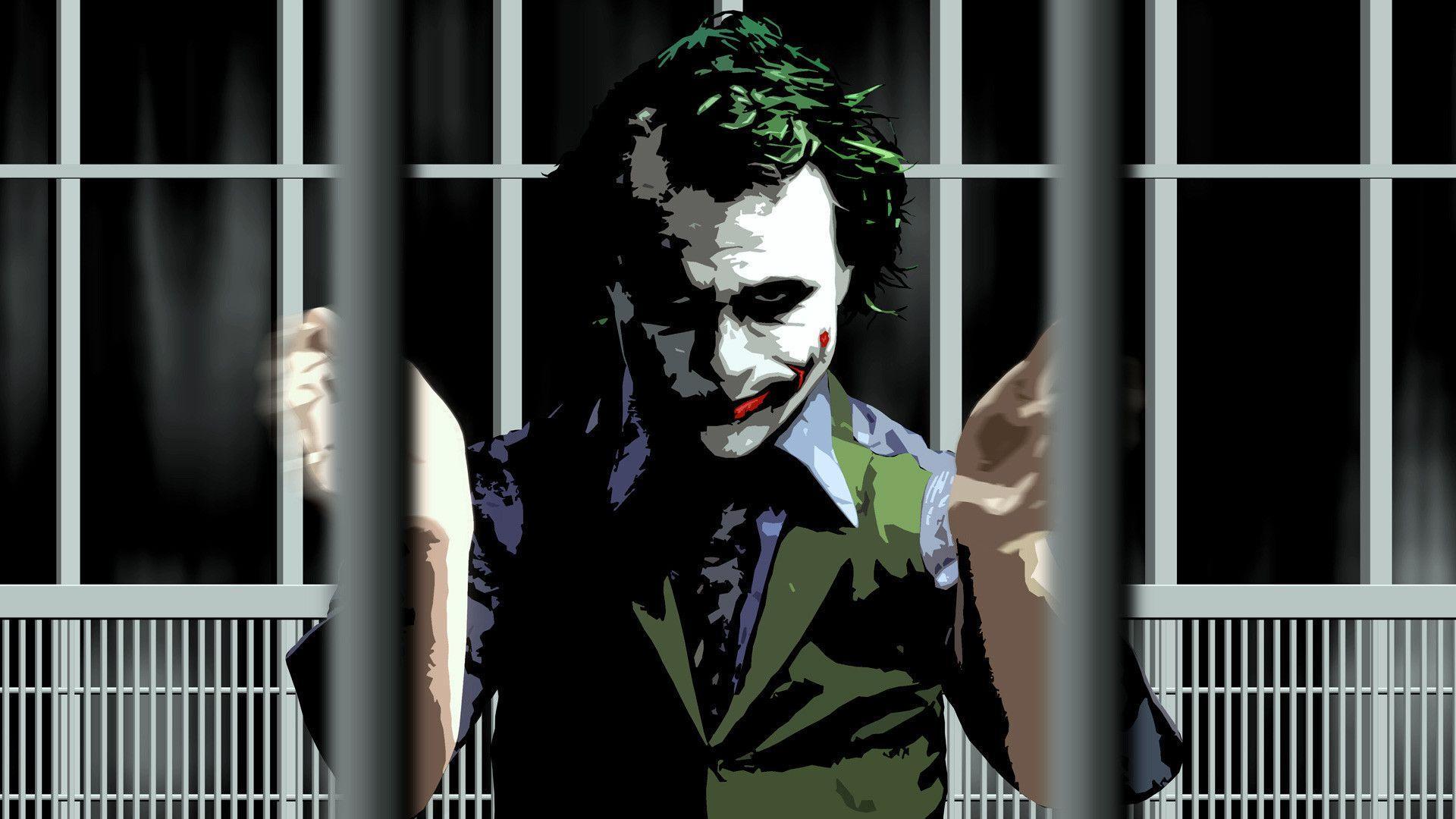 Joker The Dark Knight Wallpapers Wallpaper Cave