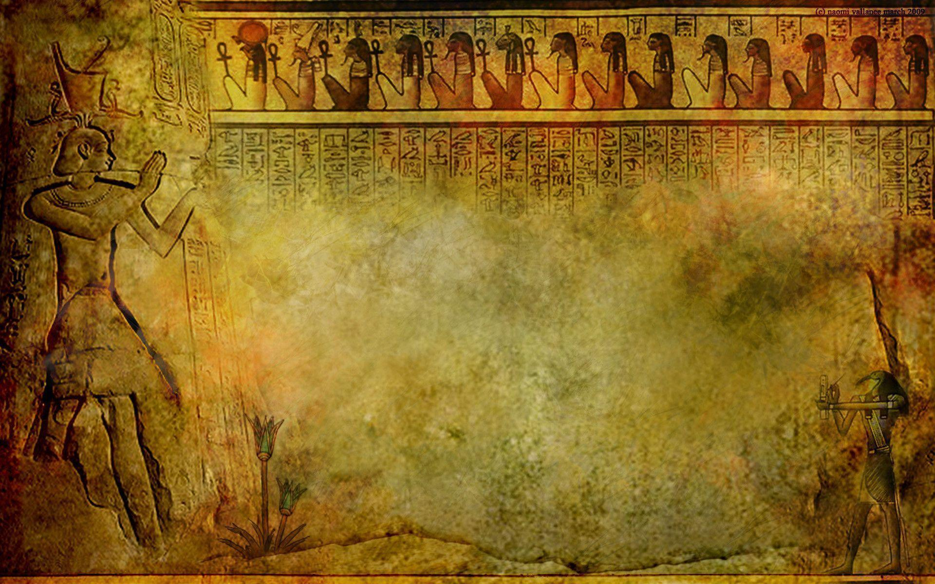 a thesis sentance for acient egyptian art