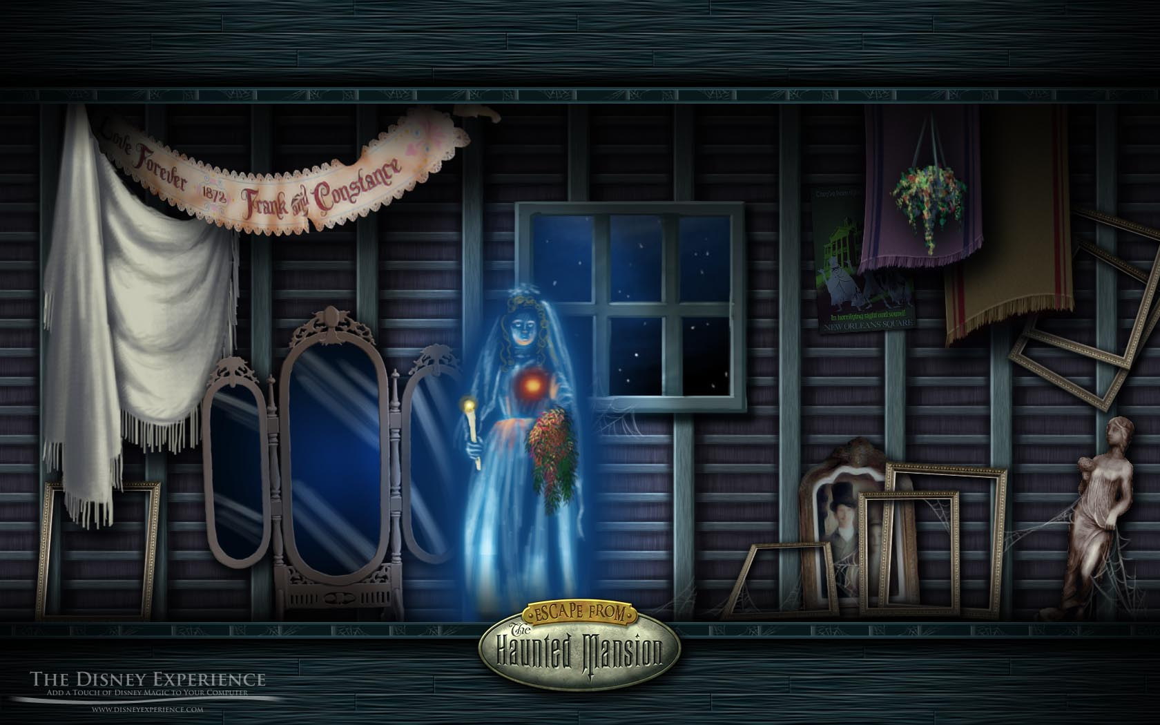 Haunted House Wallpapers Desktop - Wallpaper Cave