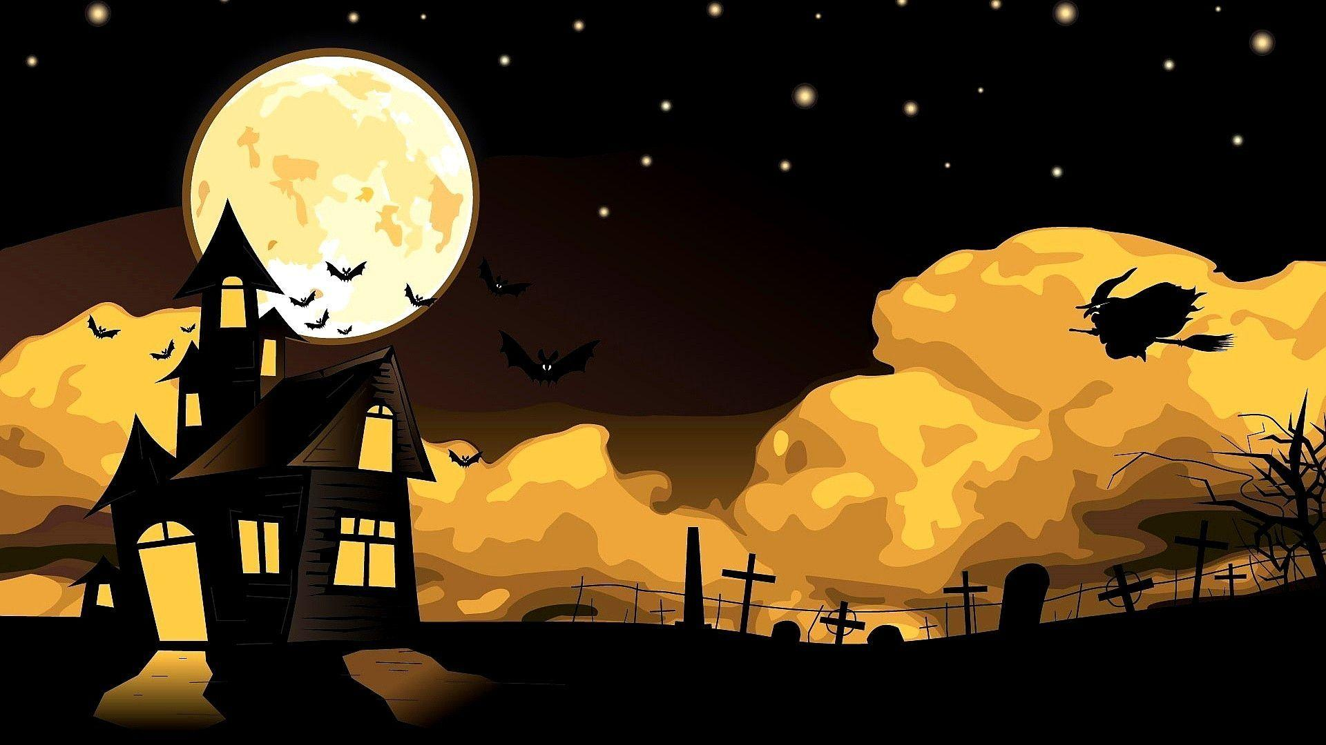 1920x1080 Hd Wallpapers For Your Desktop: 1920x1080 Halloween Wallpapers