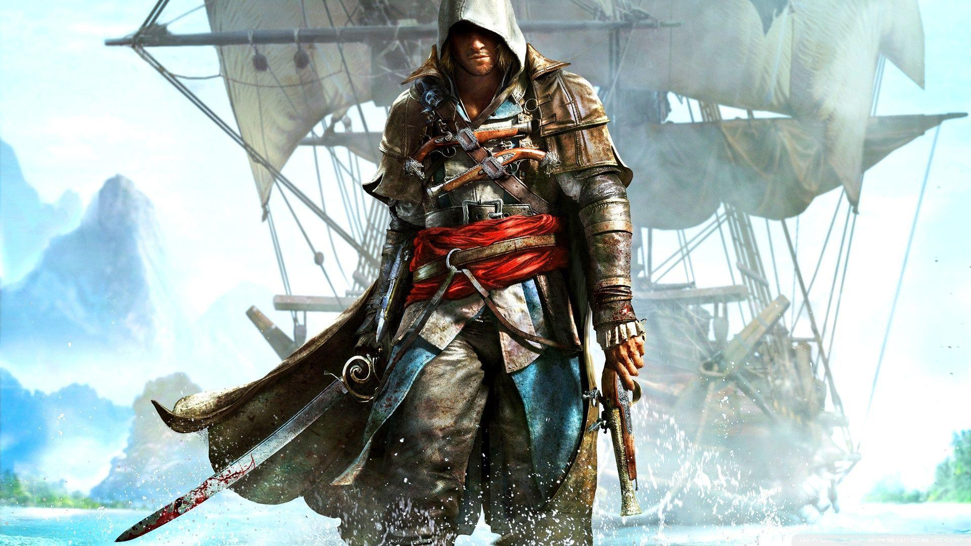 Assassin S Creed Iv Black Flag Wallpapers Wallpaper Cave