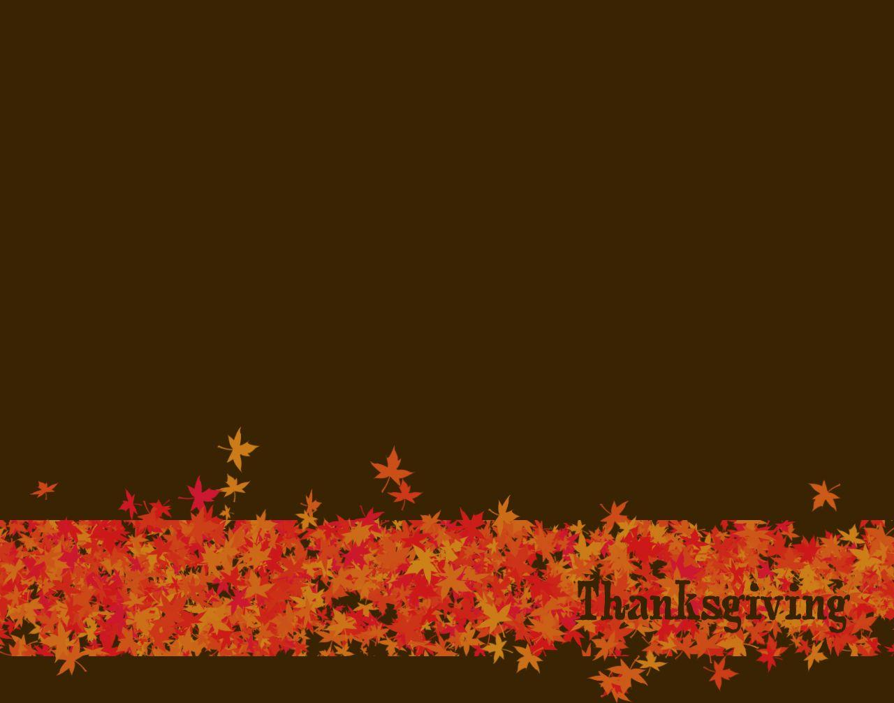 Thanksgiving Background #6813180