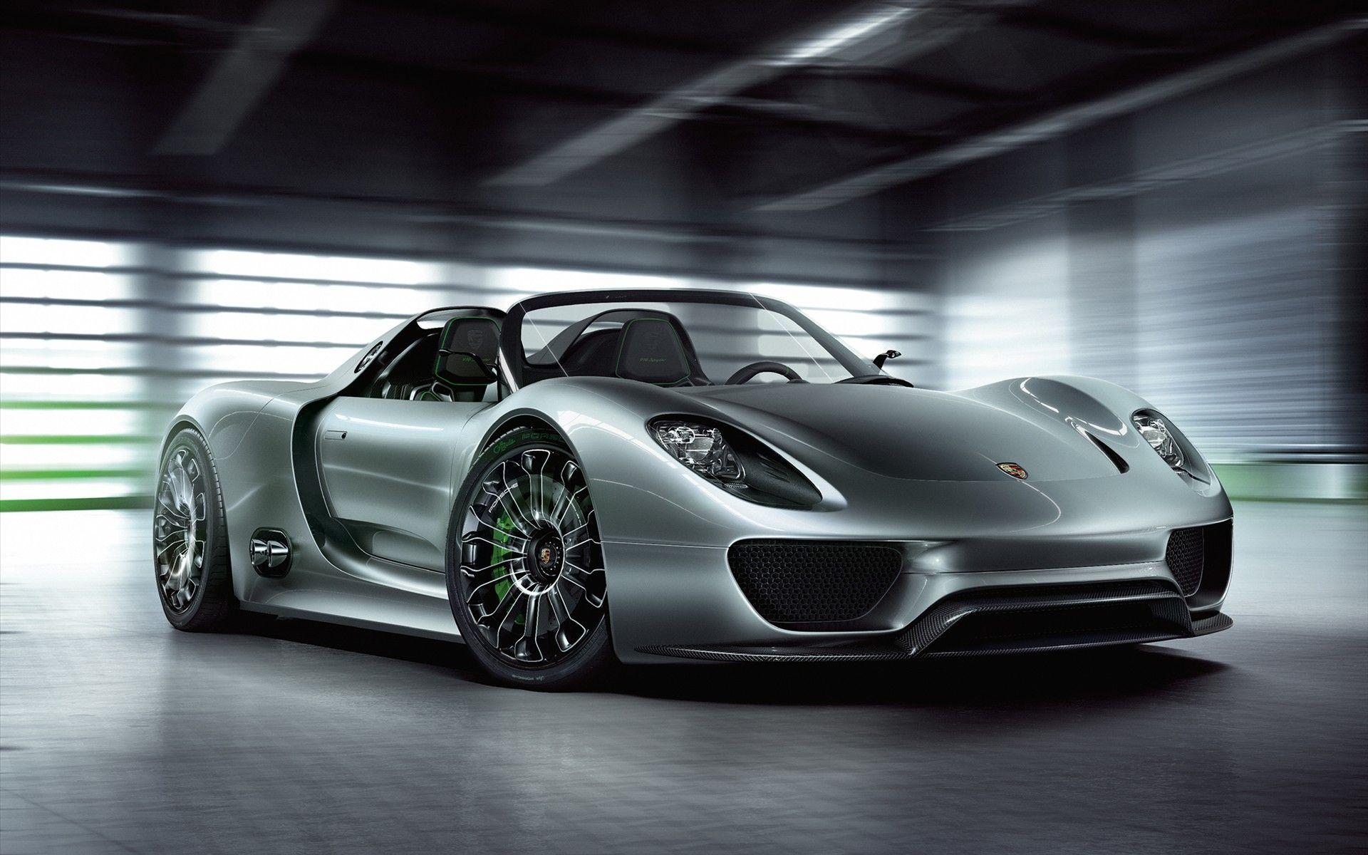 Daily Wallpaper: Porsche 918 Spyder Wallpapers