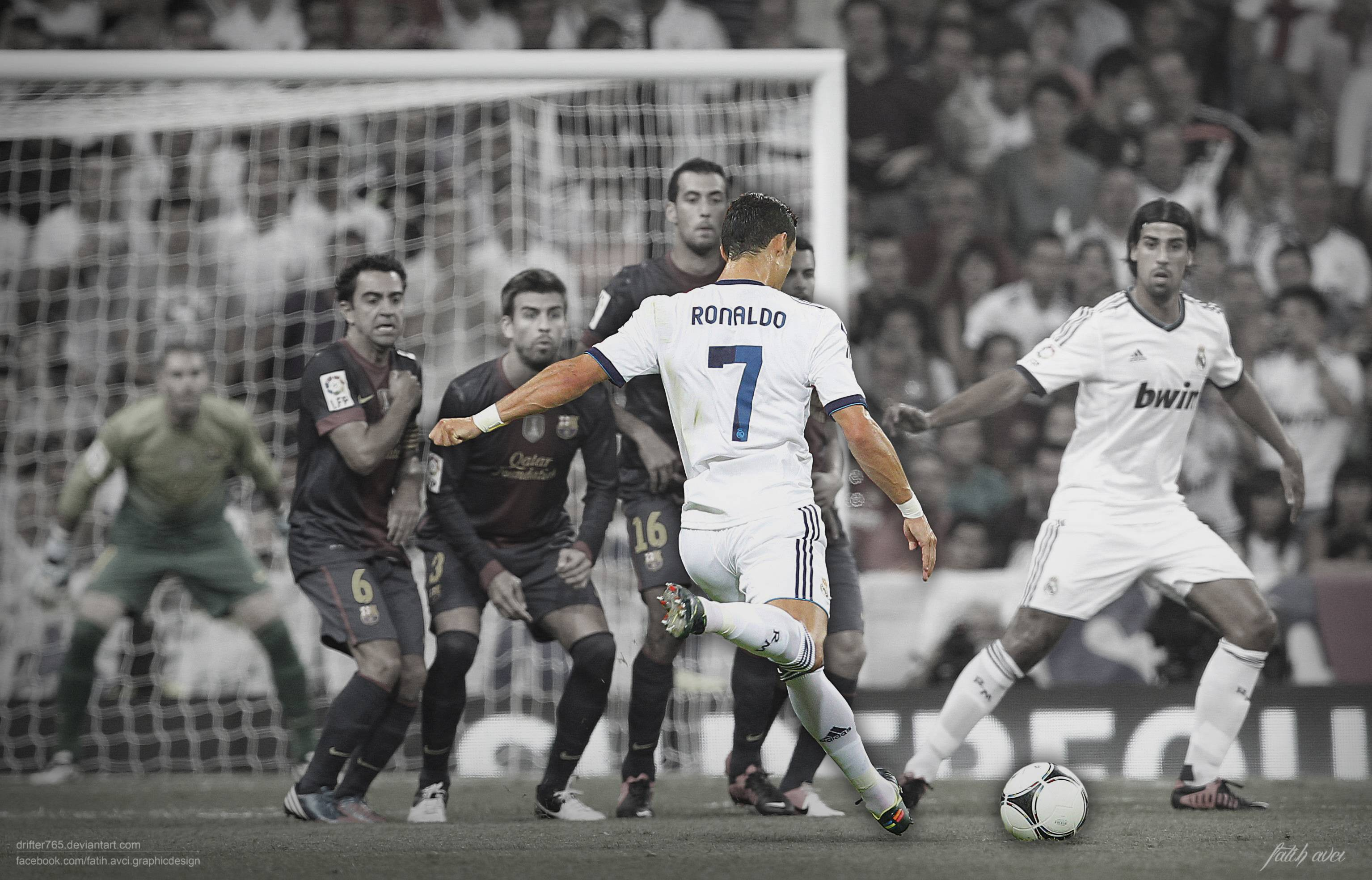 Cristiano Ronaldo Free Kick Wallpaper | HD Wallpapers