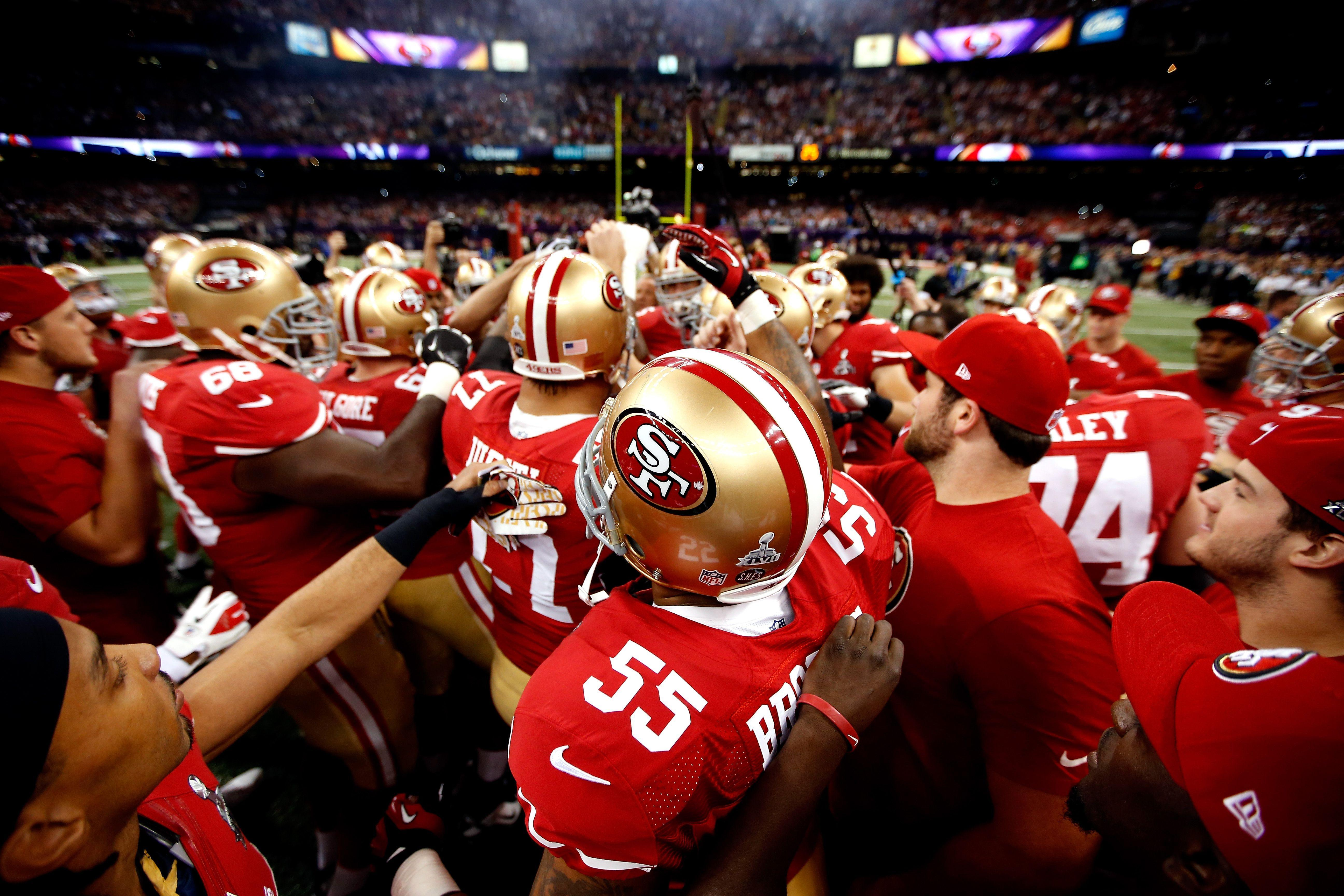 Images: San Francisco 49ers