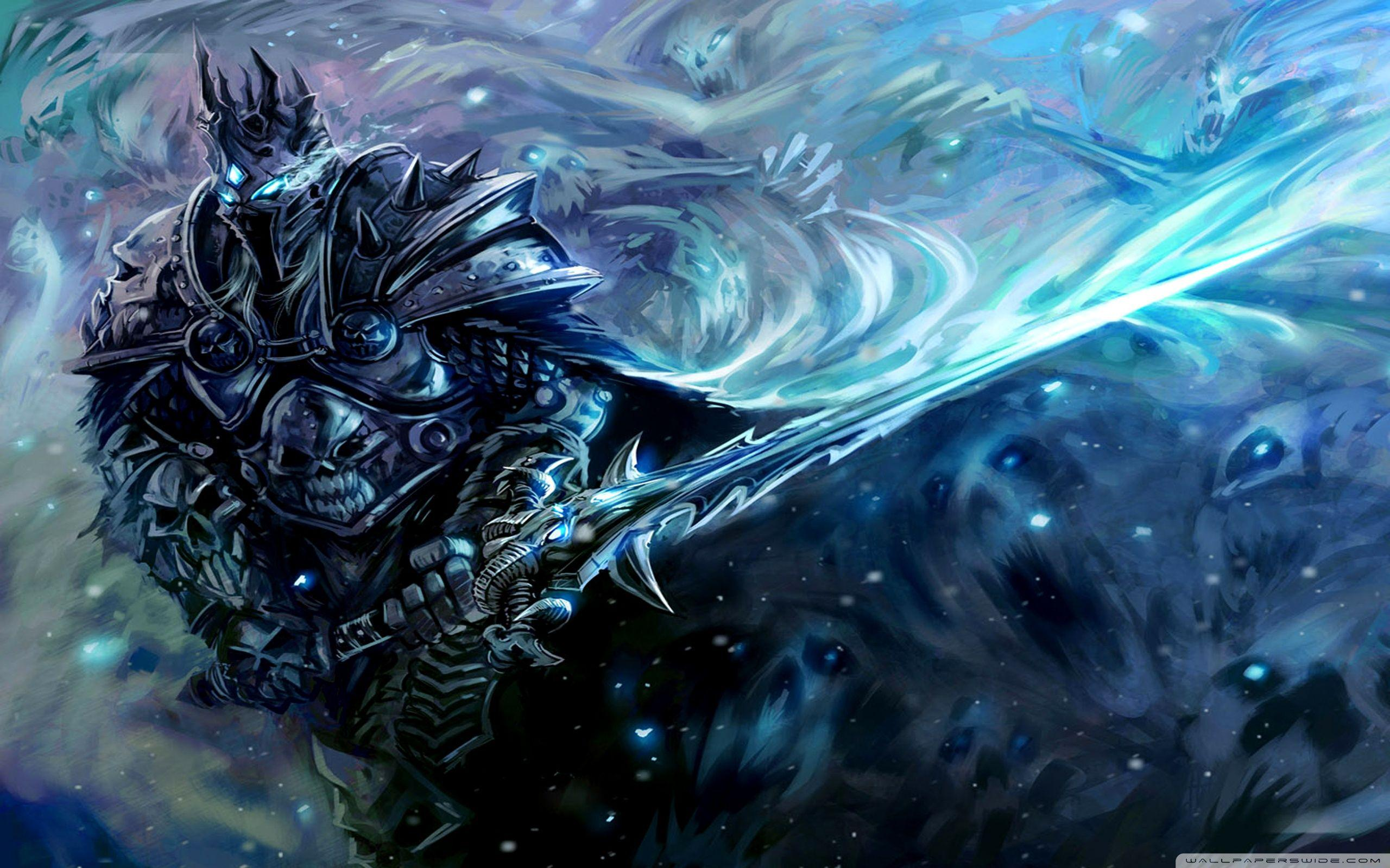 Lich King Wallpapers Hd Wallpaper Cave