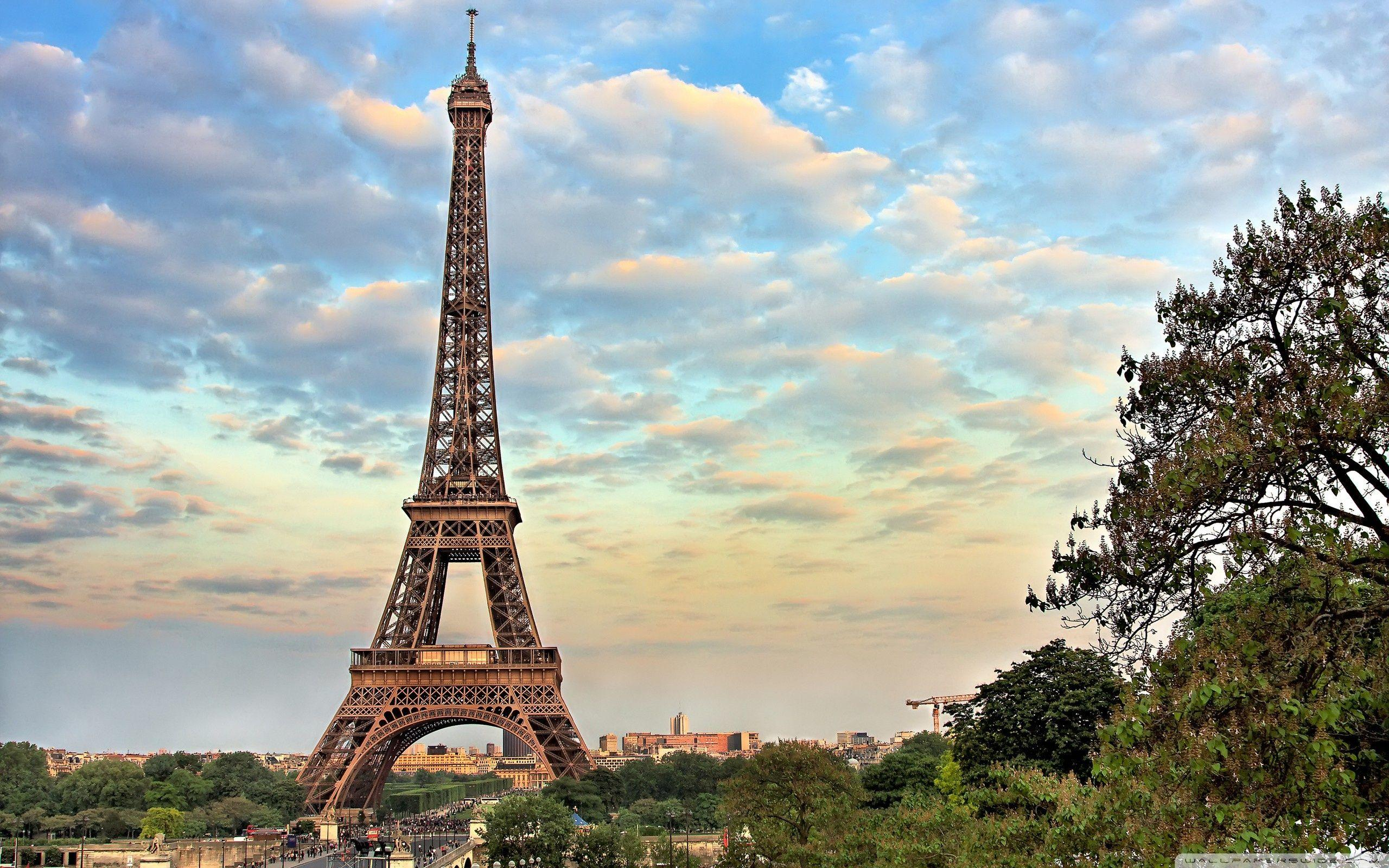 Paris France Eiffel Tower Wallpapers