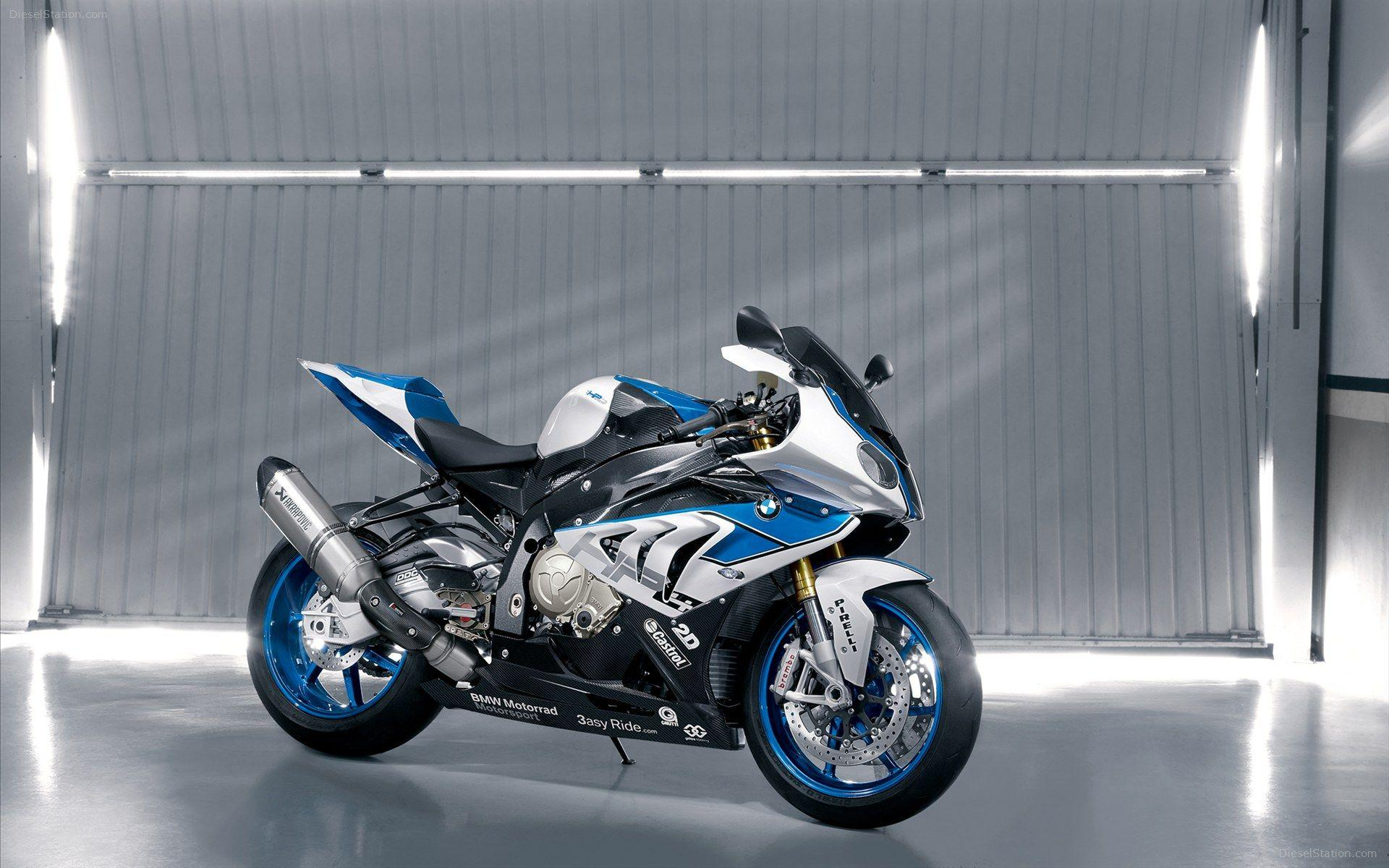 2013 BMW HP4 Bike Wallpapers
