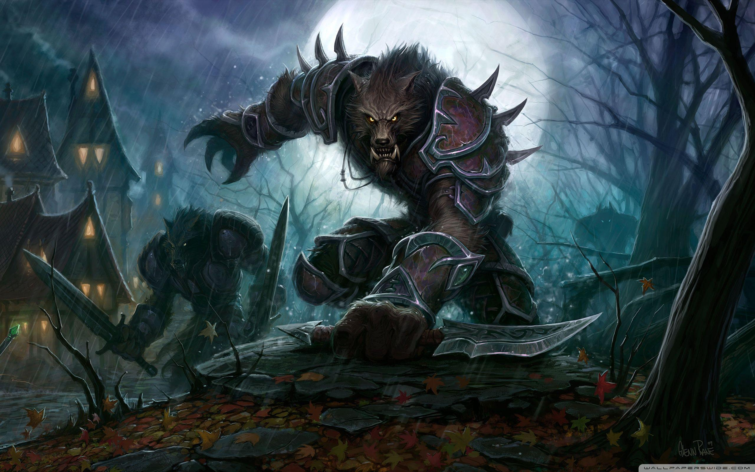 Wow Worgen Wallpapers Wallpaper Cave