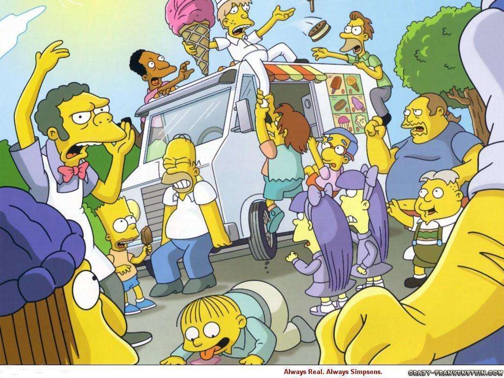 The Simpsons Cartoon wallpapers - Crazy Frankenstein
