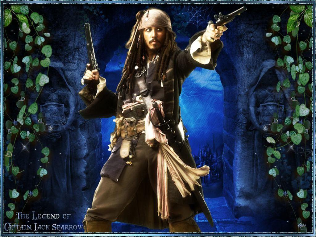 Captain Jack Sparrow Johnny Depp Wallpapers Wallpaper Cave