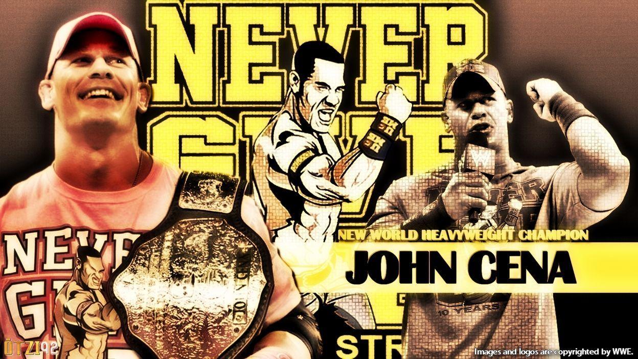 Wwe Champion John Cena Wallpapers Wallpaper Cave