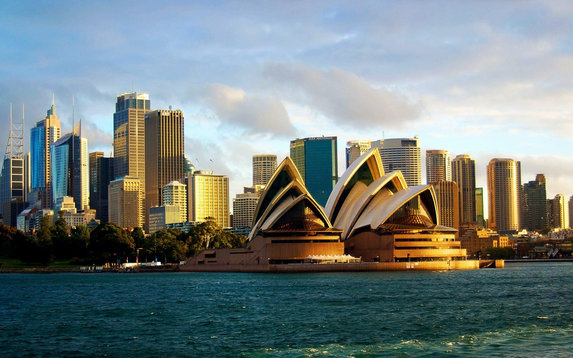 Sydney Opera House Cityscape Wallpapers