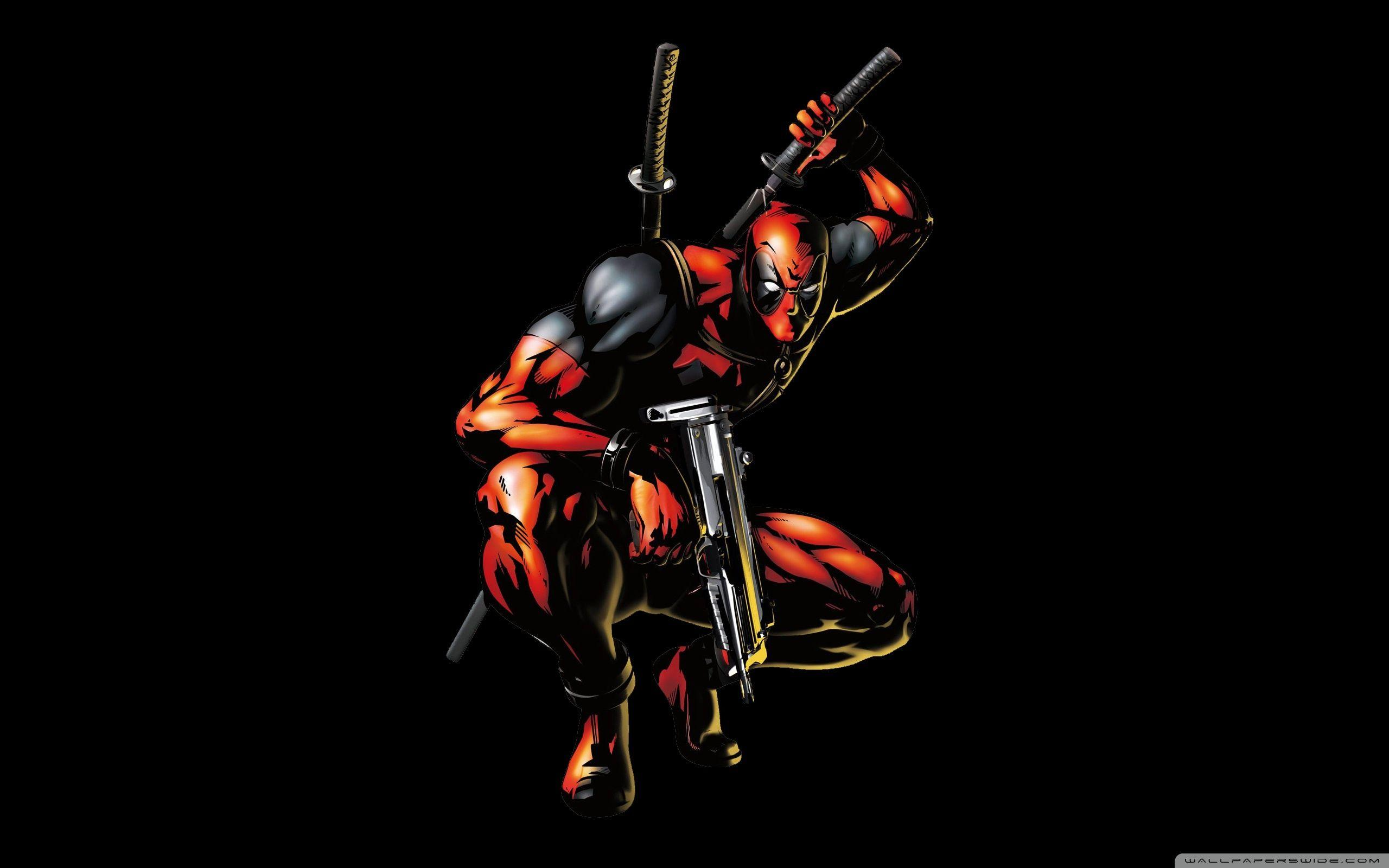 Deadpool Cartoon Wallpapers Wallpaper Cave