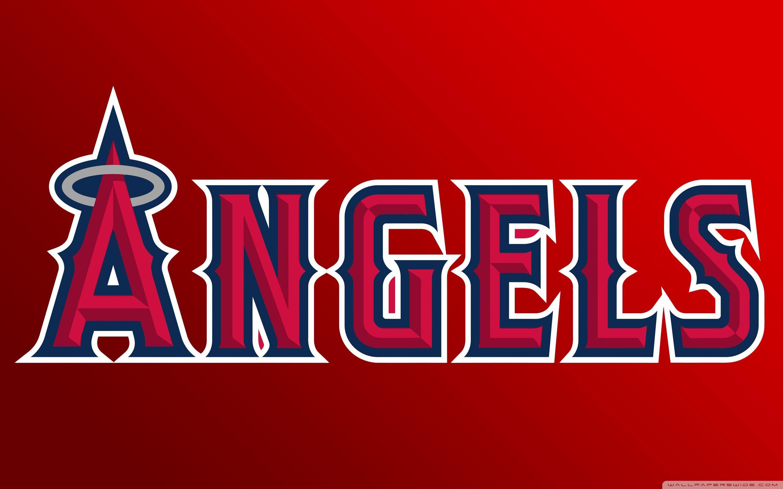 Los Angeles Angels Of Anaheim Logo Baseball ❤ 4K HD Desktop