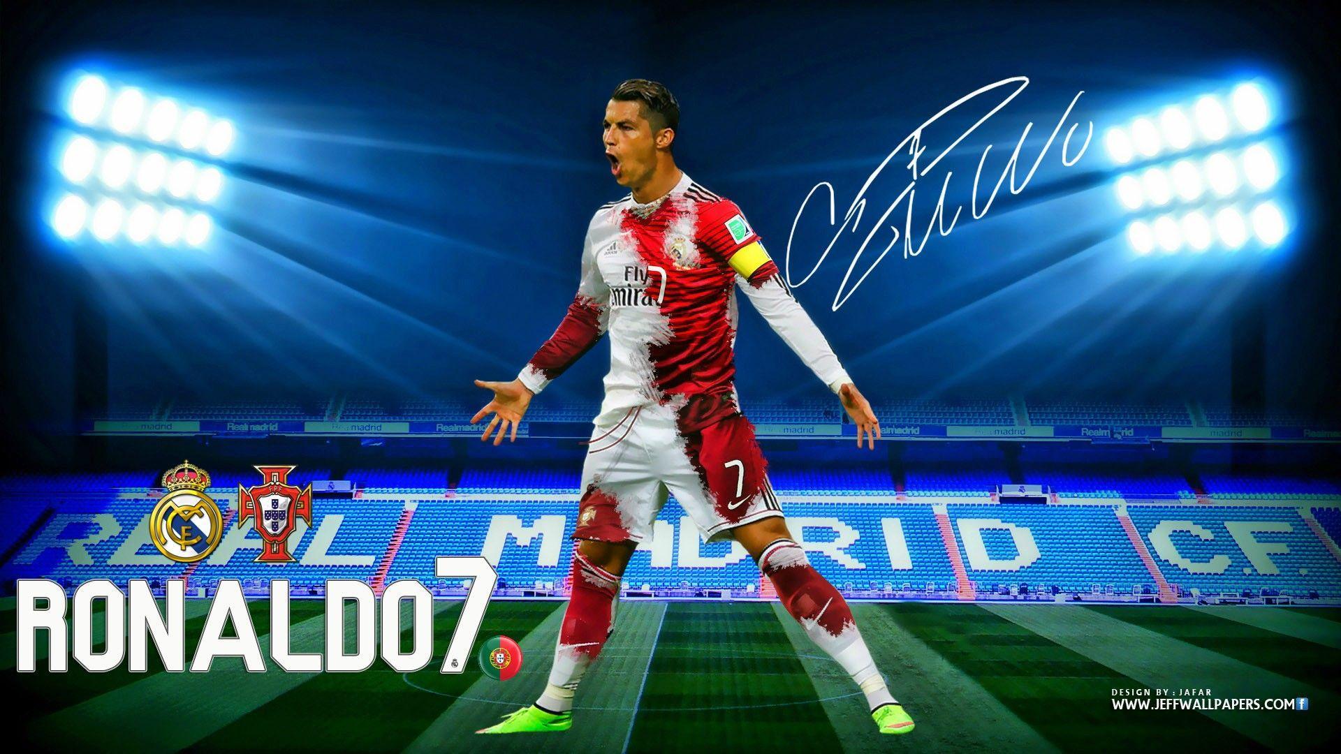 Cristiano Ronaldo CR7 Real Madrid Kit 2015 HD Wallpaper