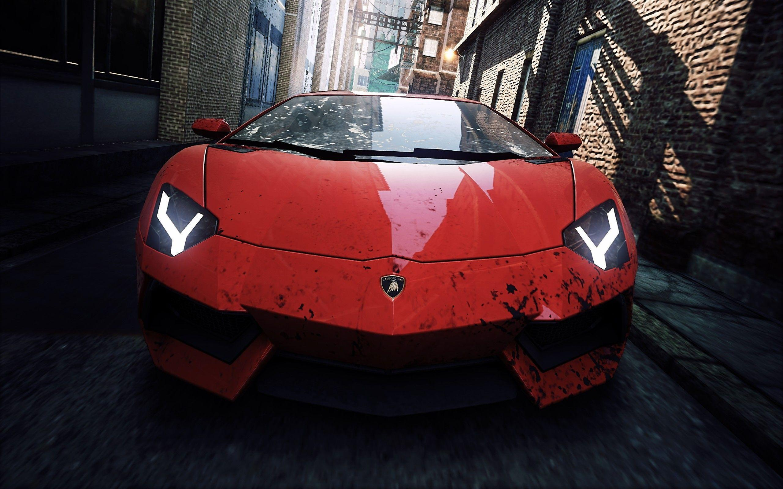 Lamborghini in NFS Most Wanted 2012 Wallpaper | HD Car Wallpapers