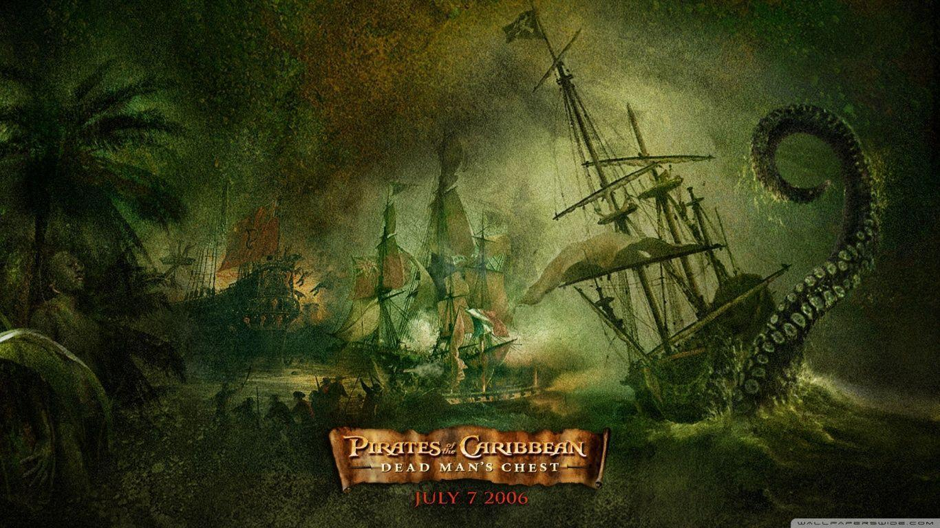 Dead Man&Chest Pirates Of The Caribbean HD desktop wallpapers