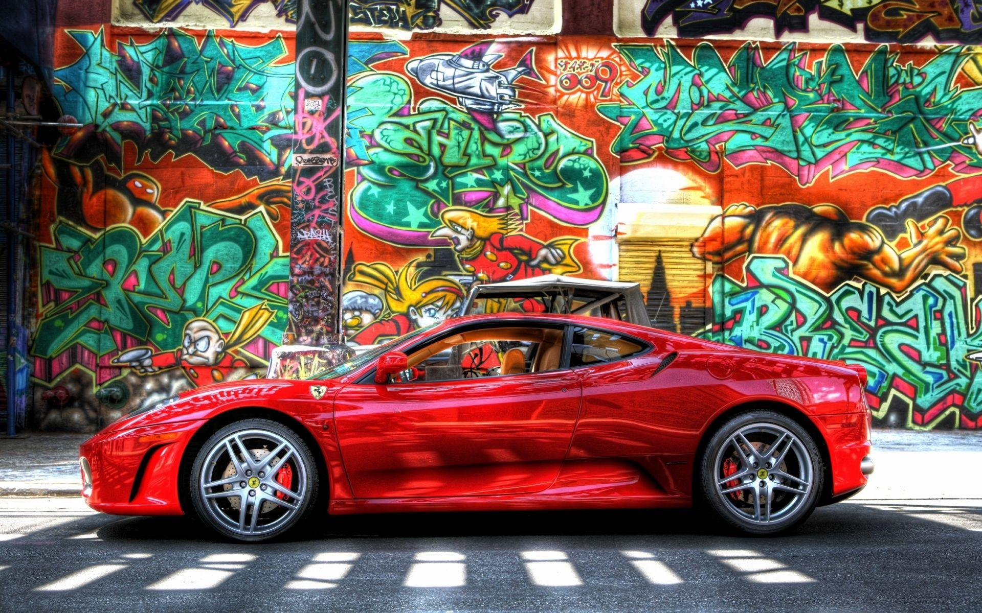 Download Ferrari Graffiti Wallpaper | Full HD Wallpapers