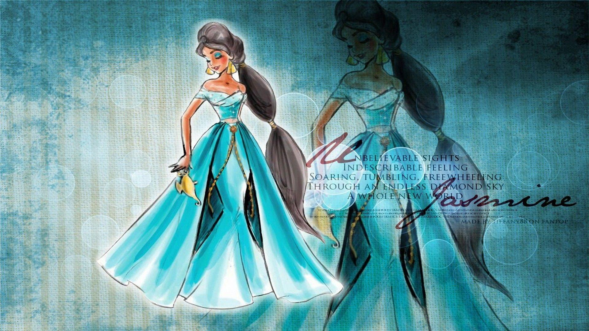 Disney princess hd wallpapers wallpaper cave walt disney princess jasmine hd wallpaper of cartoon thecheapjerseys Choice Image
