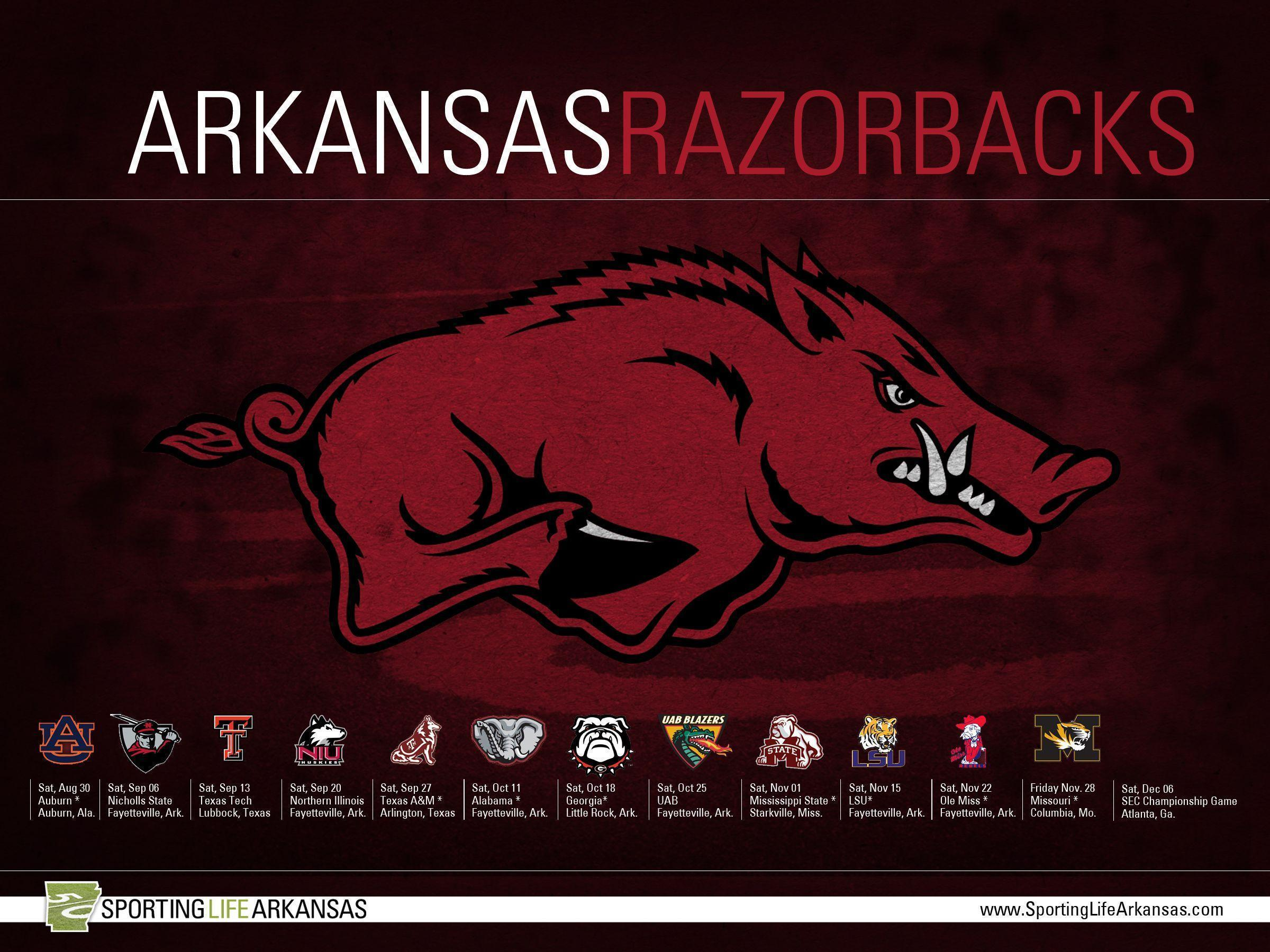 Arkansas Wallpapers, Browser Themes and More for Razorbacks Fans ...
