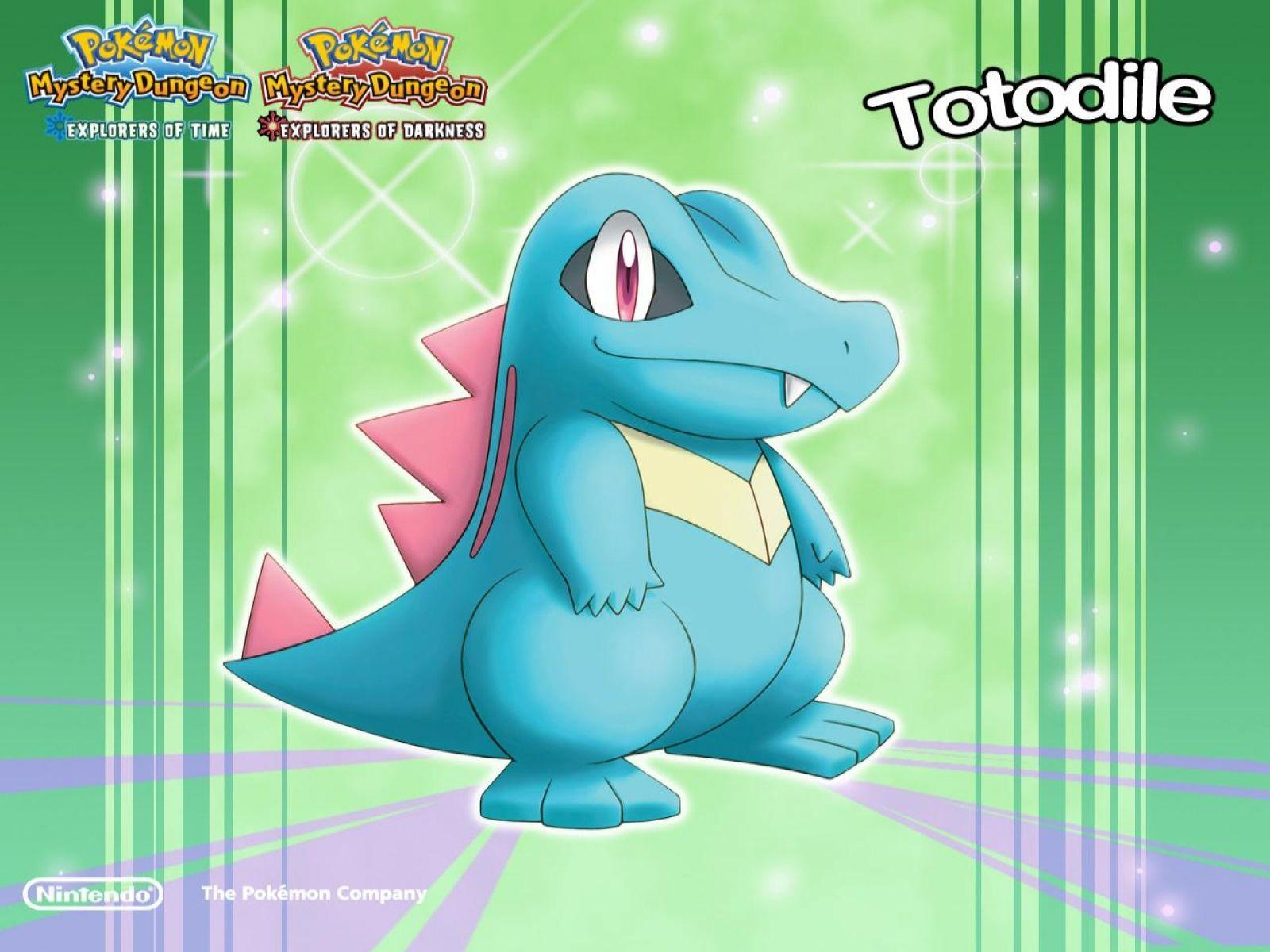 Totodile Wallpaper at Wallpaperist
