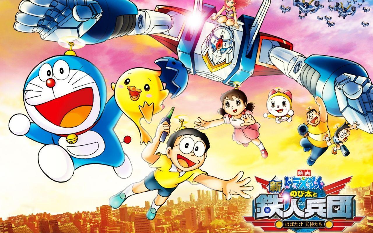 Download 8100 Koleksi Gambar Doraemon Racing Hd HD Gratid