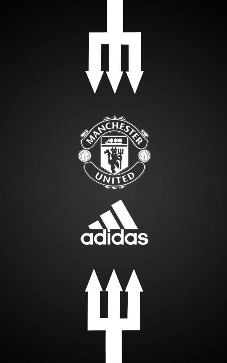 Manchester United Adidas Android wallpapers white