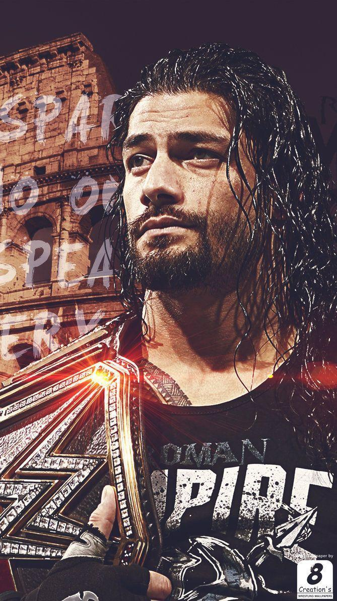 WWE Roman Reigns I Phone Wallpapers by Arunraj1791