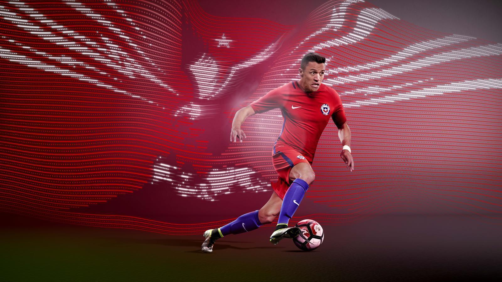 Nike News - Chile 2016 National Football Kits