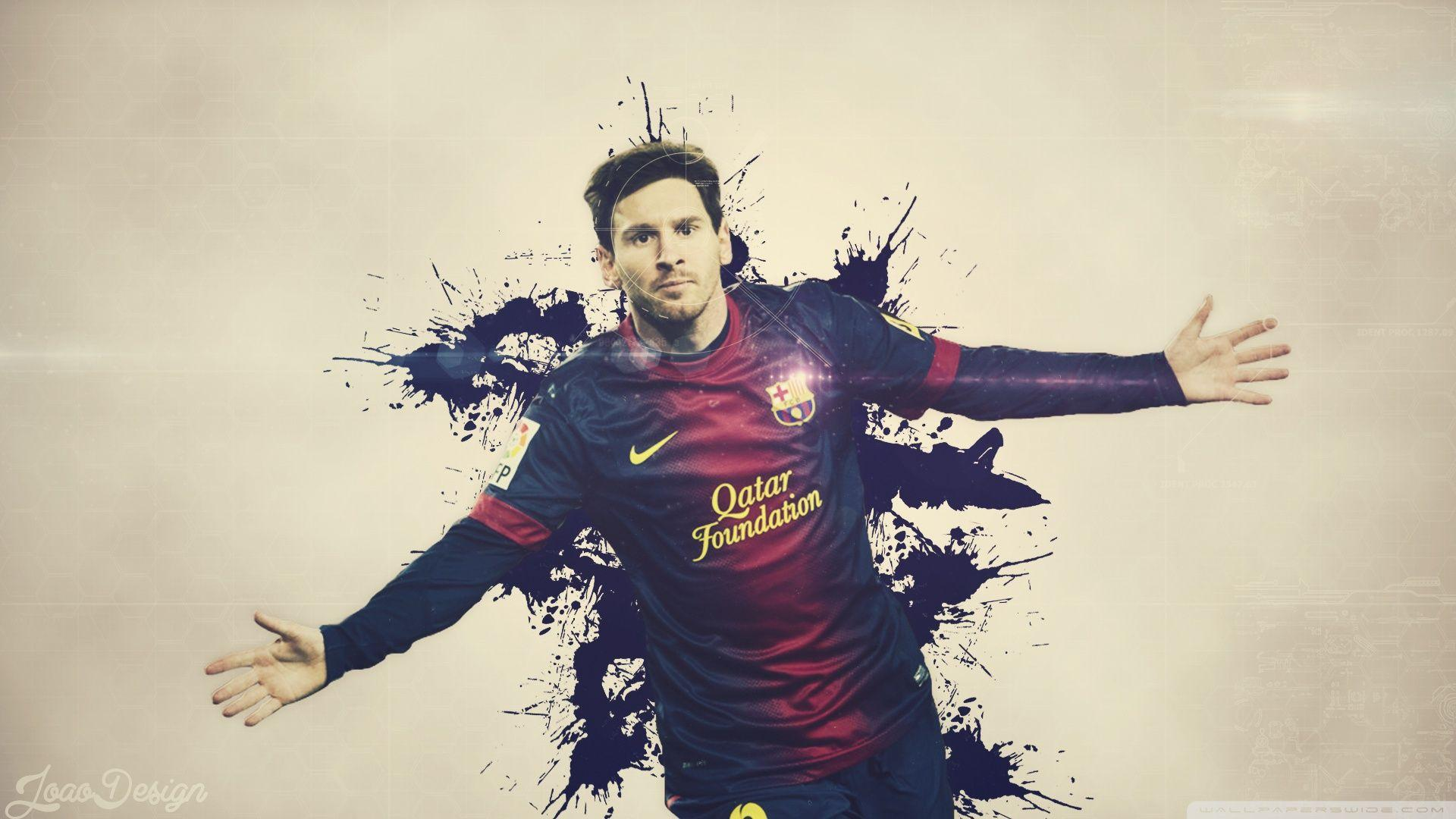 WallpapersWide.com | lionel messi High Resolution Desktop ...