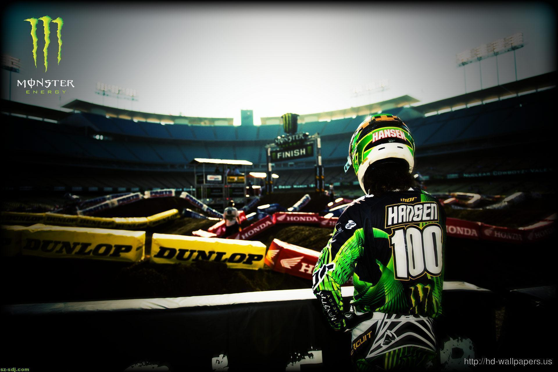 Hansen Motocross Monster Energy Wallpaper Hd – Free Download HD ...