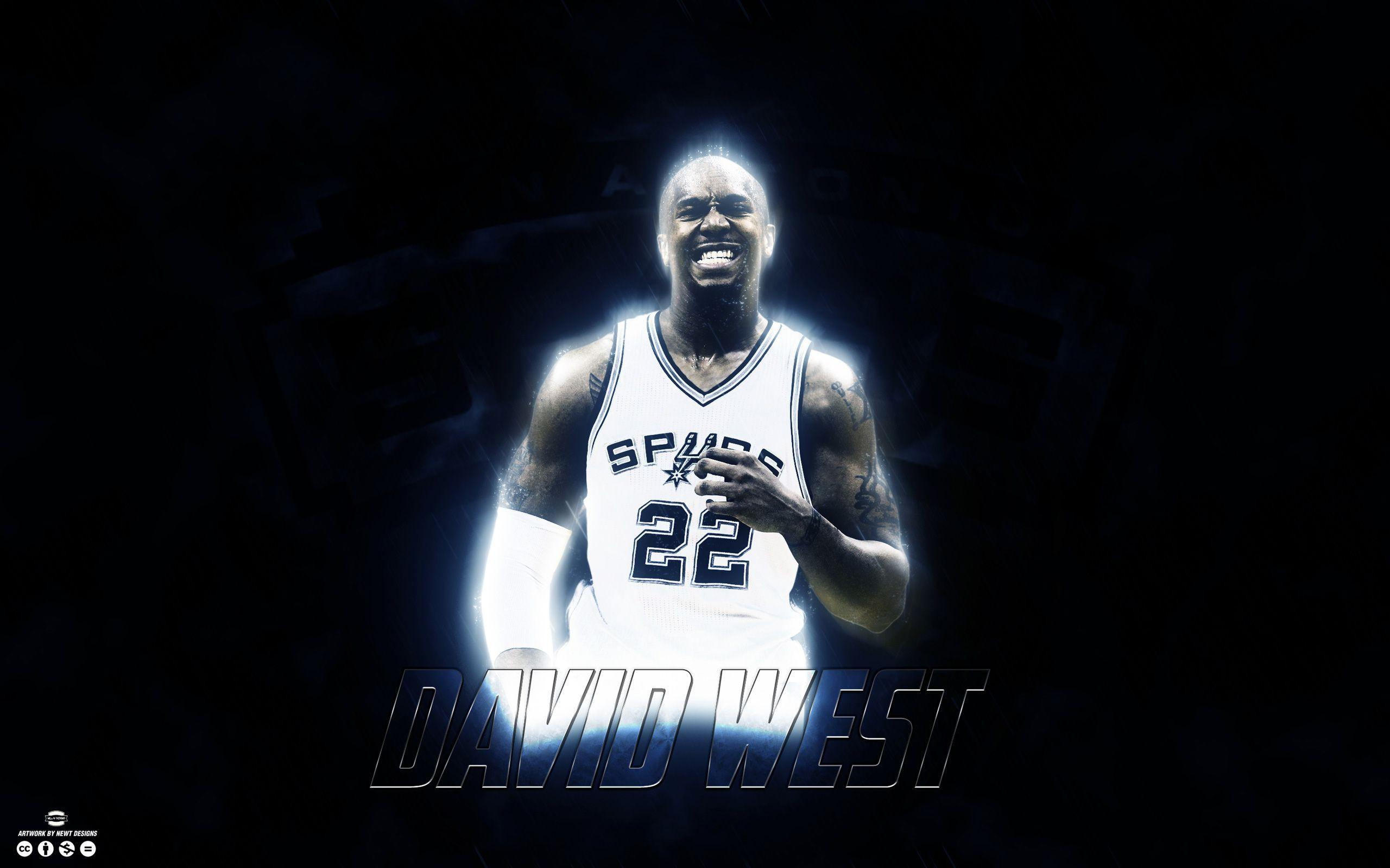 David West San Antonio Spurs 2015 Wallpaper | Basketball ...