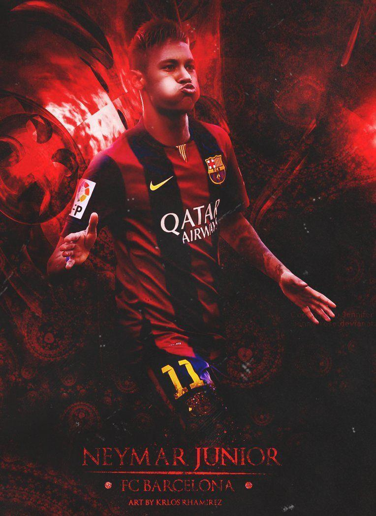 Neymar Jr Wallpaper HD by CarlosRamirez7 on DeviantArt