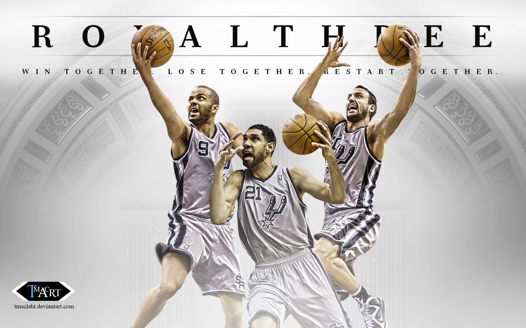 San Antonio Spurs Royalthree Wallpaper by tmaclabi on DeviantArt