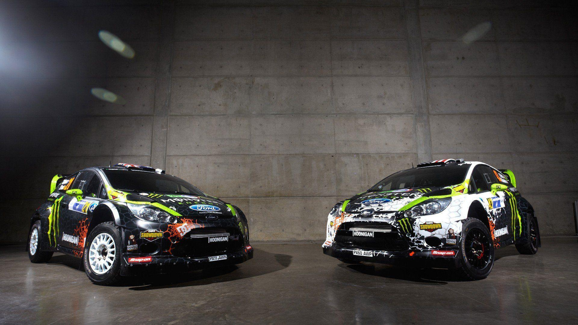 Monster energy rally car wallpaper