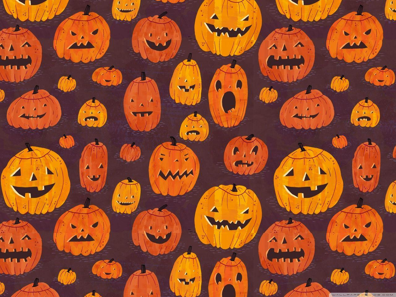 Cute Pumpkins Wallpapers Wallpaper Cave