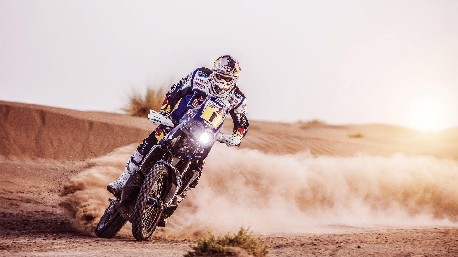 motocross, Desert, Landscape, Dakar Wallpapers HD / Desktop and ...