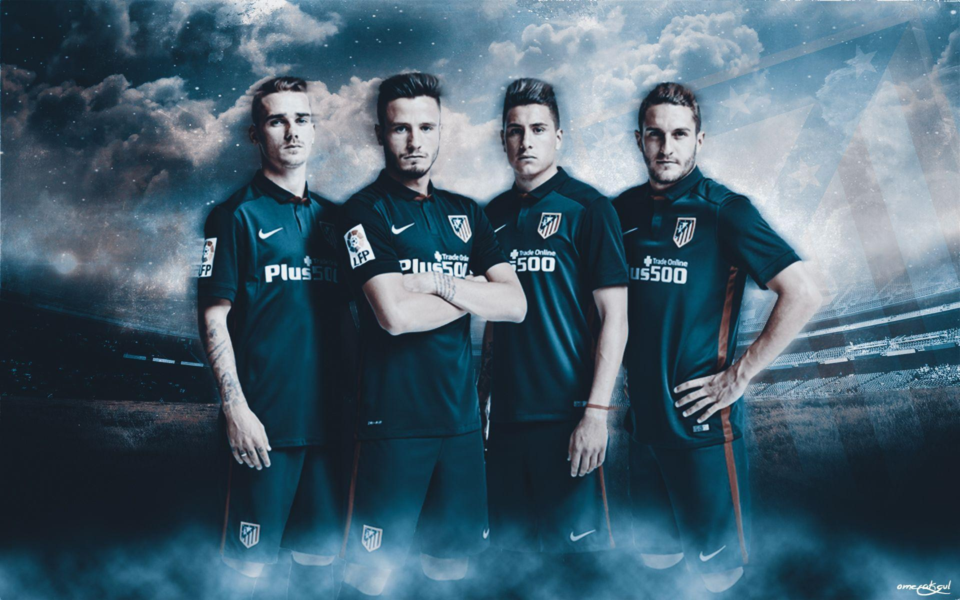 DeviantArt: More Like Atletico Madrid 2015-2016 Wallpaper Work by ...