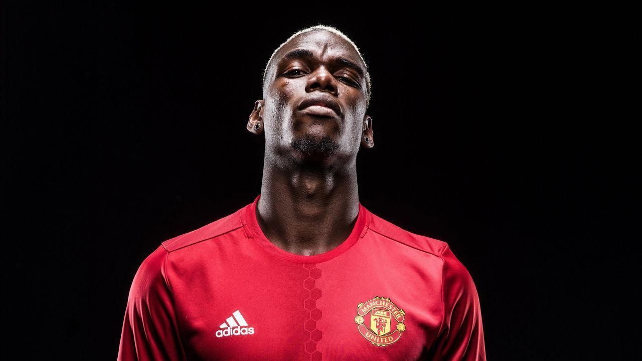 Gallery: Paul Pogba in Manchester United kit - Official Manchester ...