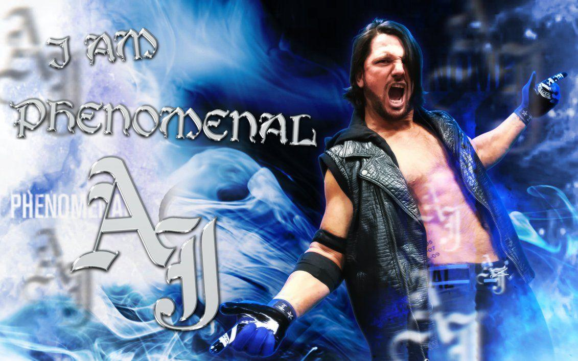 WWE AJ Styles Wallpaper 2016 by LastBreathGFX on DeviantArt