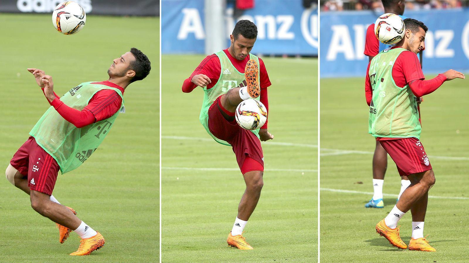 Thiago Alcantara Cuts Off Dynamic Fit Collar of Nike Hypervenom ...