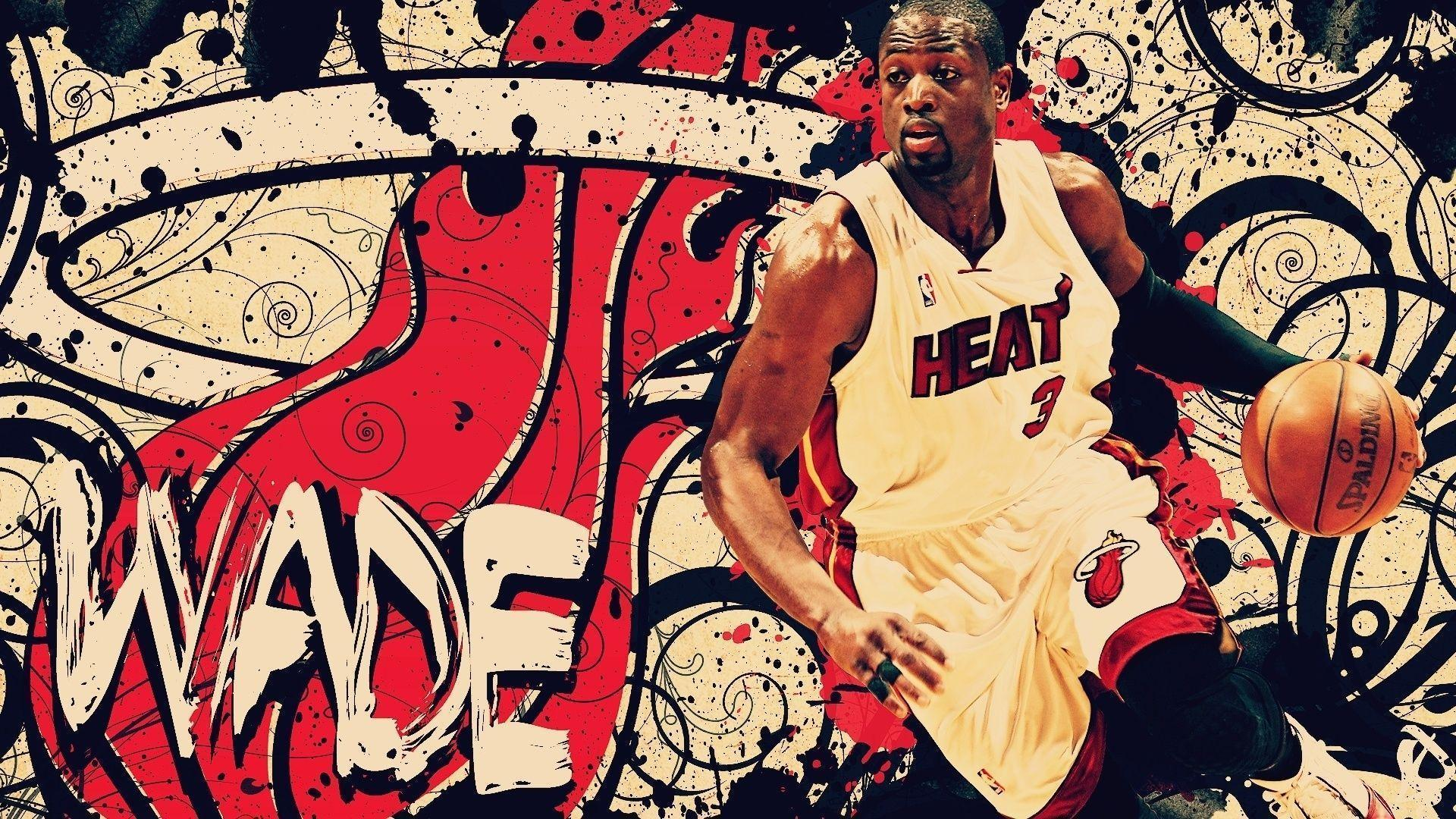 1920x1080 Arts, Basketball, Basketball Players, Miami Heat, Nba ...