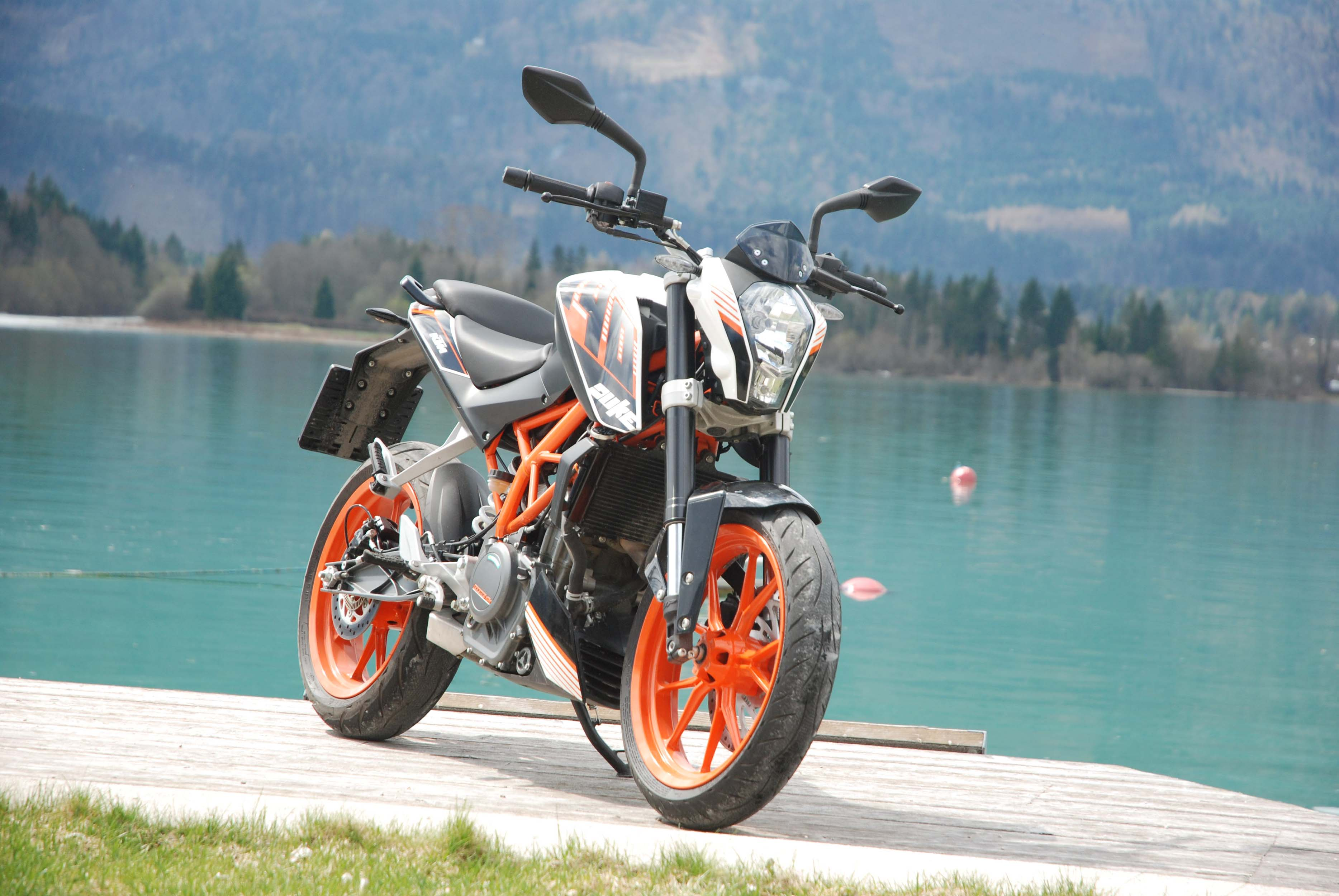 New KTM 390 Duke Image Gallery
