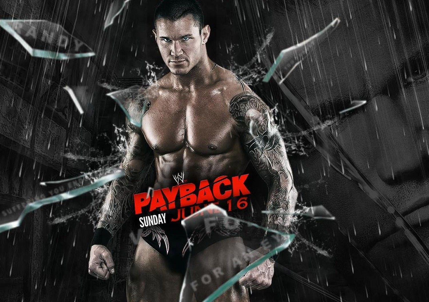 Randy Orton Pay Back WWE Wrestling Wallpapers
