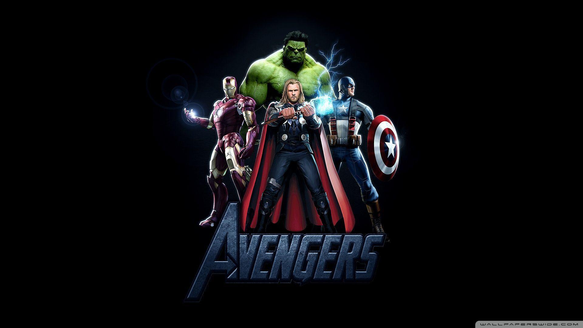The Avengers Movie 2012 4K HD Desktop Wallpaper For Ultra